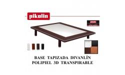Base tapizada modelo Divanlin 3D de Pikolin