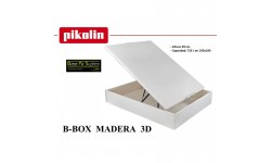 Canapé abatible B-BOX madera 3D Pikolin