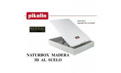 Abatible NATURBOX madera 3D Pikolin