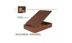 Canape abatible SPACEBOX polipiel grupo Pikolin