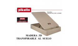 Canape abatible madera 3D al suelo Pikolin